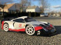 0165 -Carrozzeria BODY RC 1/8 Porsche 911 GT1 EVO RC Car