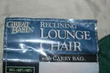 Great Basin Reclining Chair Carry Bag  C Box 11