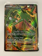 Pokemon Card Rayquaza EX - 123/124 - Full Art Ultra Rare BW Dragons Exalted NM
