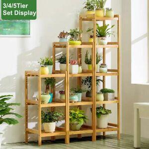 Multi Functions Bamboo Shelf Kitchen Bathroom Laundry Storage Shelf Pot Stand