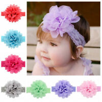 Kids Girl Baby Headband Toddler Lace Flower Hair Band Headband Fashion Accessory