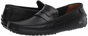 Men's Shoes Lacoste CONCOURS NAUTIC 120 U CMA Leather Moc 39CMA0084NG5 NAVY