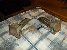 Vintage Mouli Cheese Grater Lot Of 2 Unique Made In France