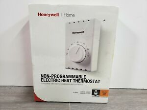 NIB Honeywell Thermostat Home Non-Programmable Electric Heat Thermostat CT410B