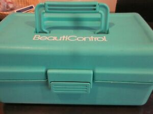 BeautiControl Tackle Box Case Tool and Supplies Storage Box Snap Closure Gently