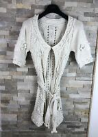 Massimo Dutti Ladies Size S Knit Belted Cardigan