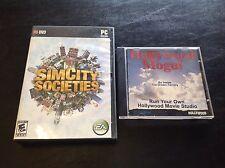SimCity Societies (PC, 2007) / Hollywood Mogul: Run your own Hollywood Studio