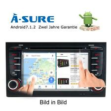 "7"" Android 7.1 DVD GPS Autoradio DAB+ 2GB RAM für AUDI A4 S4 RS4 8E 8H B6 B7"