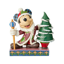 Jim Shore Father Christmas Mickey Mouse New 2019 6002829