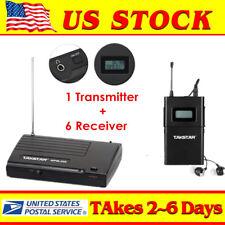 Takstar WPM-200 Wireless Monitor System In-Ear System 780-789Mhz w/ 6 Receivers