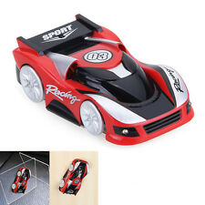 RED Wall Climbing RC Racer Remote Control Floor Racing Car Defies Gravity Toys