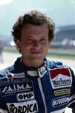 Mauro Baldi Alfa Romeo F1 Portrait 1983 Photograph