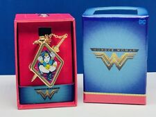 Wonder Woman Justice League DC comics watch wristwatch nib box accutime sword