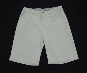 Adidas Golf Ultimate 365 Gray Tech Casual Flat Golf Shorts Mens 33