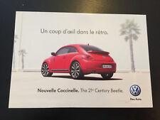 CP POSTCARD CARTOLINA VW VOLKSWAGEN NOUVELLE COCCINELLE NEW BEETLE
