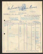 """ROUBAIX (59) LAINE à TRICOTER """"BONNE MAMAN"""" en 1952"""
