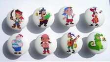 8 Jake And The Neverland Pirates Boys Kids Dresser Drawer Knobs Made As Ordered