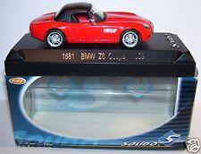 OLD SOLIDO BMW Z8 COUPE 1999 ROJO REF 1581 EN BOX