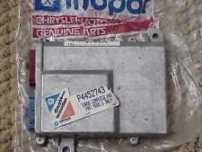 1987 MoPar Performance TURBO 1 COMPUTER 2.2 Chrysler HP NOS MoPar