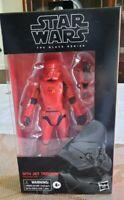 Sith Jet Trooper Black Series Action Figure Star Wars Rise of Skywalker BNIB
