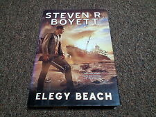 Steven R. Boyett     Elegy Beach    (2009, Hardcover)    first edition