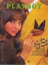 DOLLY READ Signed 1968 April PLAYBOY Magazine Beyond the Valley of the Dolls PSA
