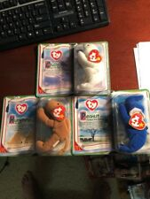 Ty Legends Chilly, Peanut And Humphrey Retired McDonald's Teenie Beanie Baby