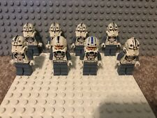 LEGO Star Wars Clone Trooper Episode 3 Phase 2 Minifigures 7655 sw0126 Lot of 8