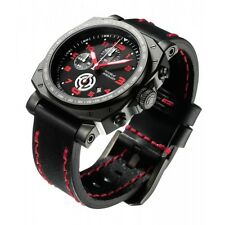 New in Box  House of Horology Bedlam Black Red Dial Mens Watch