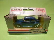 EDOCAR 008 VW VOLKSWAGEN BEETLE KAFER 1968 - BLUE  1:50? - NEAR MINT IN BOX