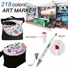 Twin Marker Pen 218 General Colour Alcohol Graphic Sketch Art Drawing As Copic