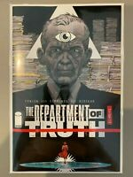 Image comics Department of Truth #1 Declan Shalvey 1:10 Variant Cover - NM