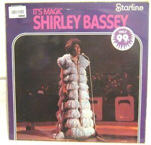 LP Vinyl Album Shirley Bassey It's Magic Emi Starline records SRS5082 1971