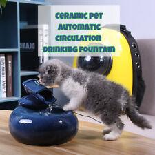 Pet Water Fountain Smart Ceramic Automatic Circulating Water Dispenser Drinker