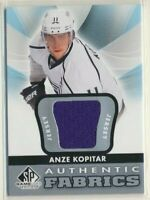 2013-14 SP Game Used Authentic Fabrics Jersey Anze Kopitar Los Angeles Kings