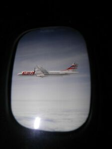 ATR-72 airliner press release photo. CSA