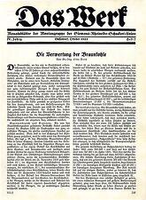 Dr.Ing. Otto Vent Die Verwertung der Braunkohle Brikett-Verkaufsverein Köln 1924