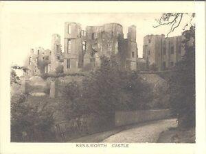 England - Kenilworth Castle - General View