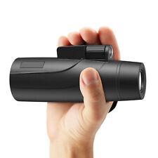 Fernglas  Wasserdicht Vergrößerung für Handy Monokular 12x50 mit Handyhalterung