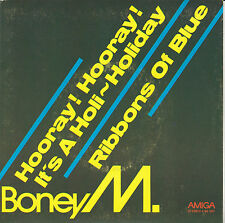 "7""Vinyl  / Hooray! Hooray! It´s A Holi..von Boney M (1979) / DDR Amiga 4 56 397"