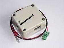 12V quad USB fast charger & lead charging 4 port camera phone Ford Vauxhall