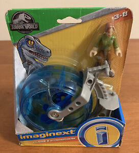 Imaginext Jurassic World - Claire & Gyrosphere - New! Fisher-Price