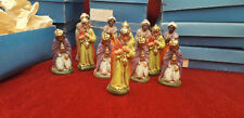 PERSONNAGES CRECHE ANCIENS / ZEICHEN ALTE KRIPPE /CHARACTERS OF THE OLD CRECHE