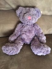 RUSS Teddy Bear Purple Bears From The Past NWT Cute And Adorable 4643