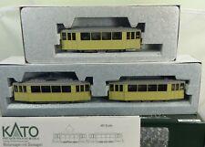 Kato K30930 K30901-1 Düwag Straßenbahnmodell Motorwagen mit 2 Beiwagen 1:87 H0