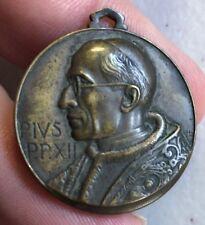 Vintage POPE PIUS XII MEDAL Religious MATER BONI CONSILII-ORAP N