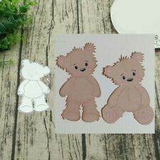 DIY STAND BEAR METAL CUTTING DIES SCRAPBOOKING EMBOSS PAPER CARDS ALBUM STENCIL