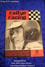 Rallye Racing 5/68 Simca 1200 S Jim Clark Renault 16 TS