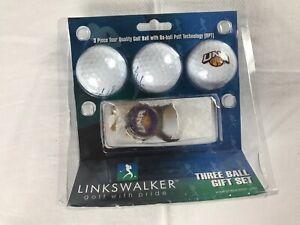 North Alabama Lions Golf 3 Balls Tees Key Chain Bottle Opener UNA Student Alumni