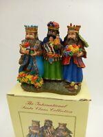 International Santa Claus Collection Ornament ~ The Three Kings Nicaragua